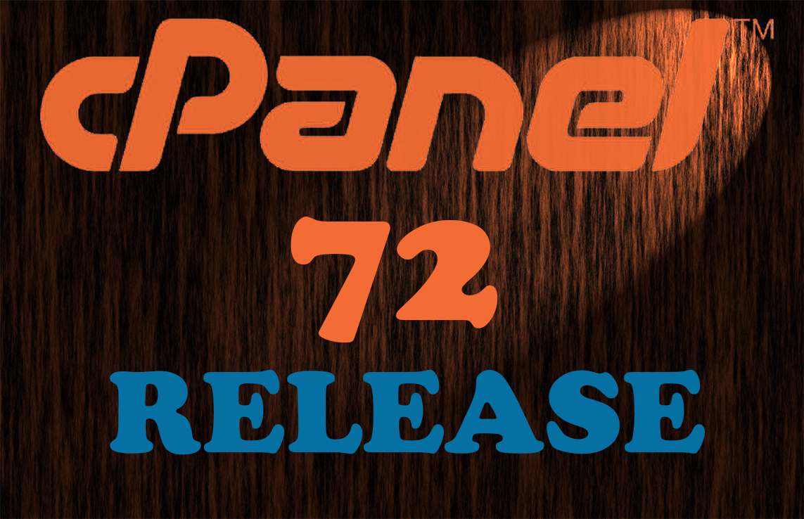 Cpanel 72 Released